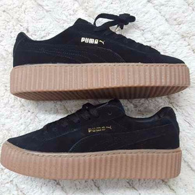 zapatos puma rihanna mujer white
