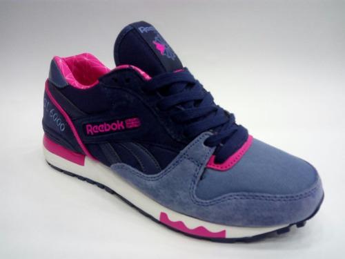 tenis zapatillas rebook gl6000 dama envio gratis