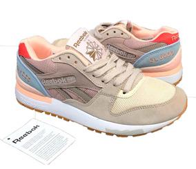 46a330c3f8 Zapatillas Reebok Gamuza - Tenis Reebok para Mujer en Mercado Libre ...
