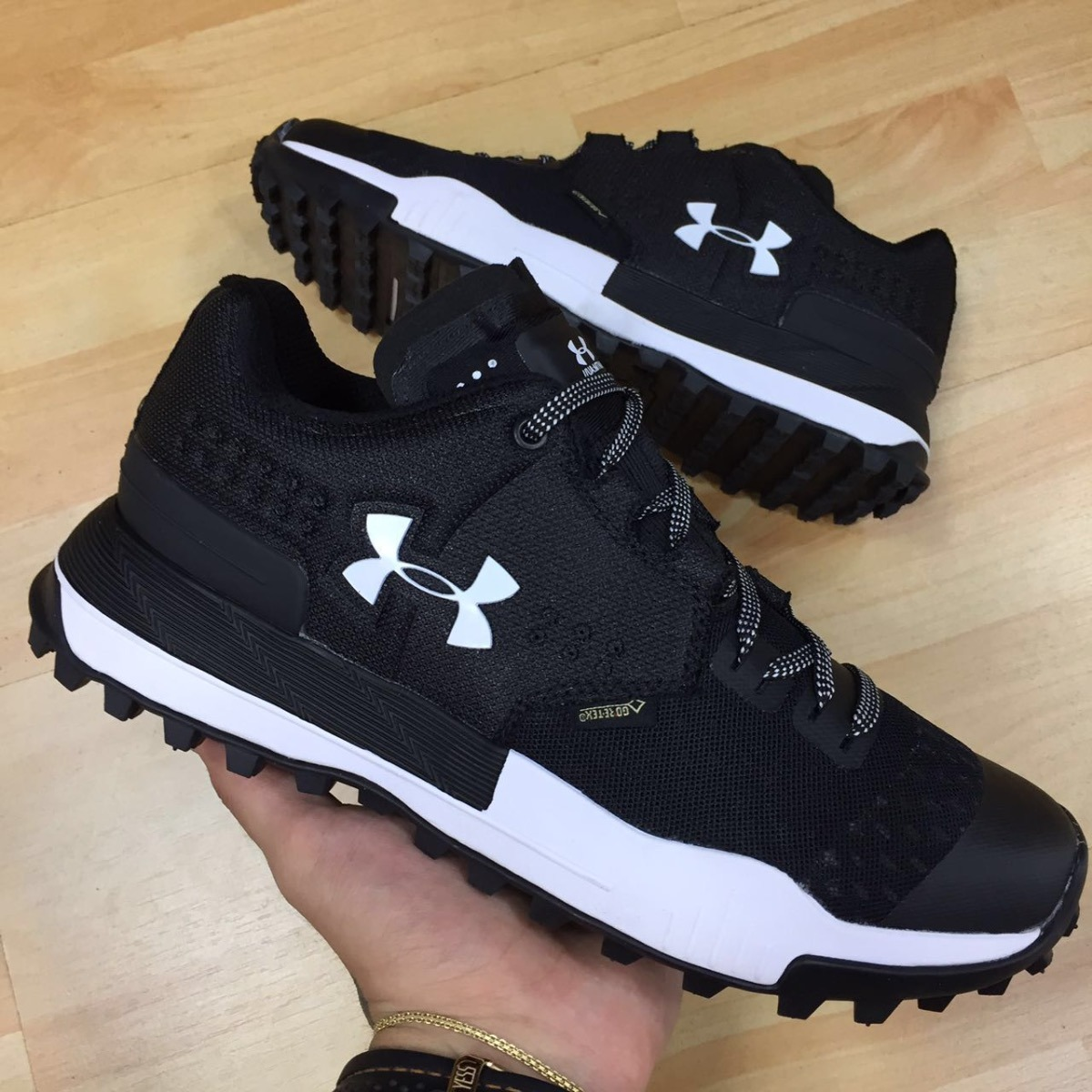 Gore Tex Zapatillas Under Armour Running Negra Tenis Blanca kw8nOPX0