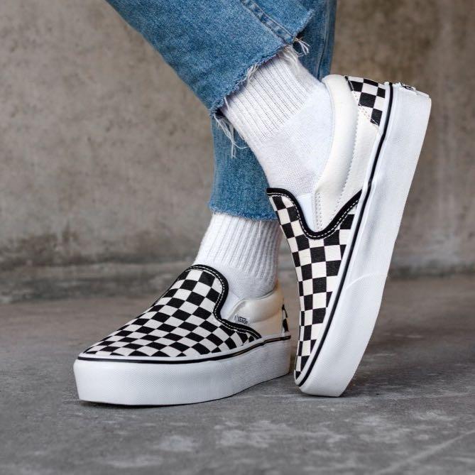zapatillas vans cuadros mujer