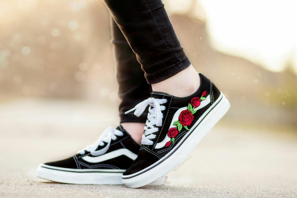 imagenes de zapatillas vans para mujer