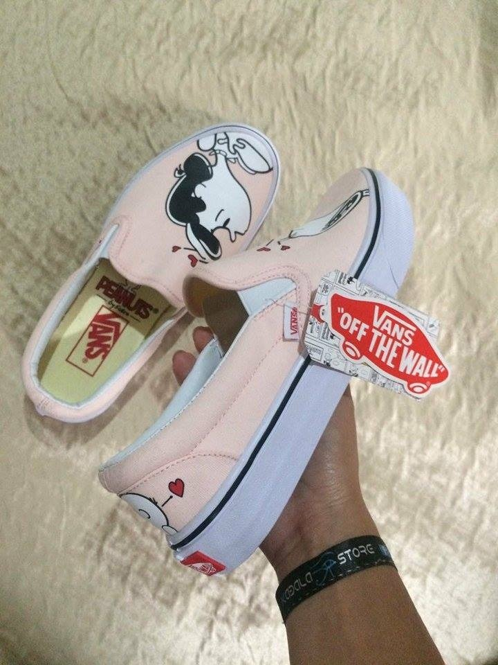 zapatillas vans snoopy mujer 37