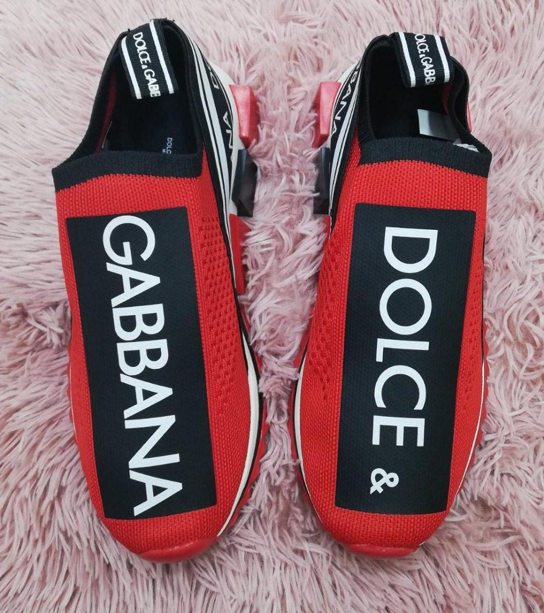 bfb9e693626 zoom tenis dolce dg rojos gabbana zapatos Cargando sorrento zapatillas  qZRqz8