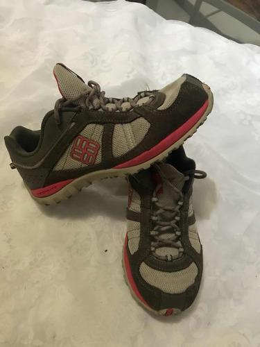 tenis / zapato para montañismo, marca columbia original