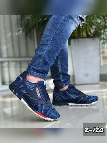 tenis zapatos deportivo zapato bota negro azul jean