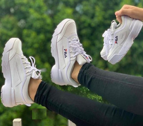 Tenis Zapatos Fila Disruptor Niña Mujer (envio Gratis)