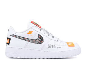 more photos 05088 0ac4d Tenis Zapatos Zapatilla Nike Air Force One Just Do It Hombre
