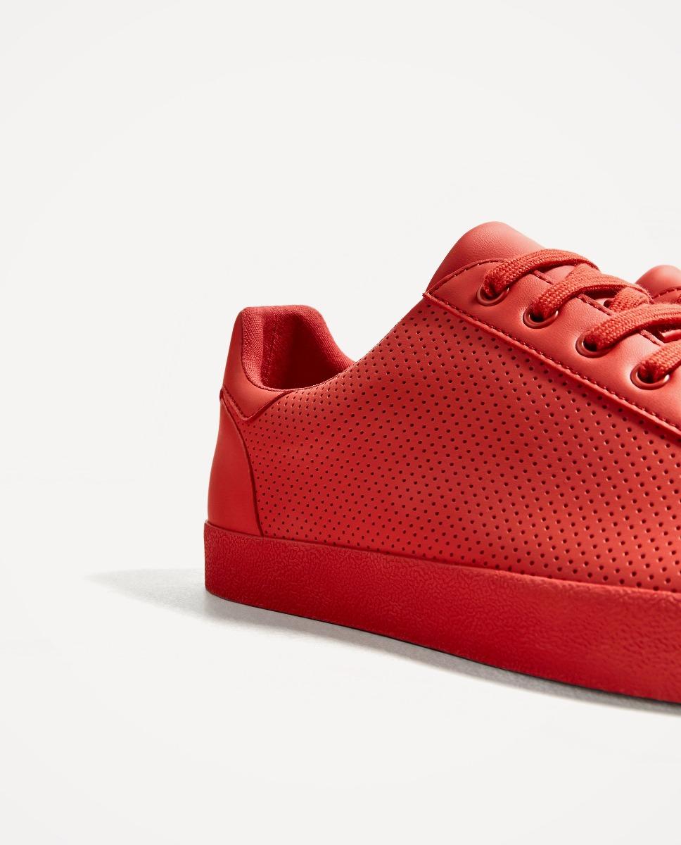 Man Zara 119 Mercado Libre Perforada S Tenis Roja En 00 5fwgRqPqp