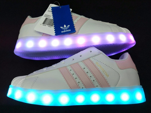 adidas superstar mujer con luces