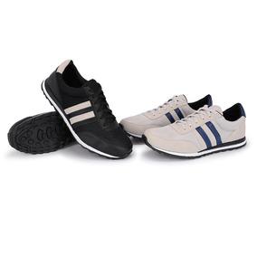 9cb6b42b33a33 Tenis Adidas Cano Baixo Estilo - Tênis com o Melhores Preços no Mercado  Livre Brasil