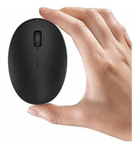 tenmos mini raton inalambrico recargable 24 ghz raton optico