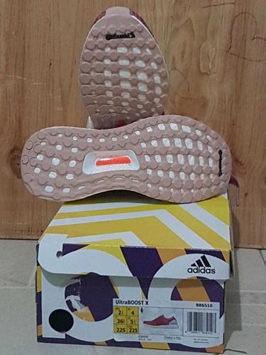 tennis adidas ultraboost x único par talla 2.5 mujer