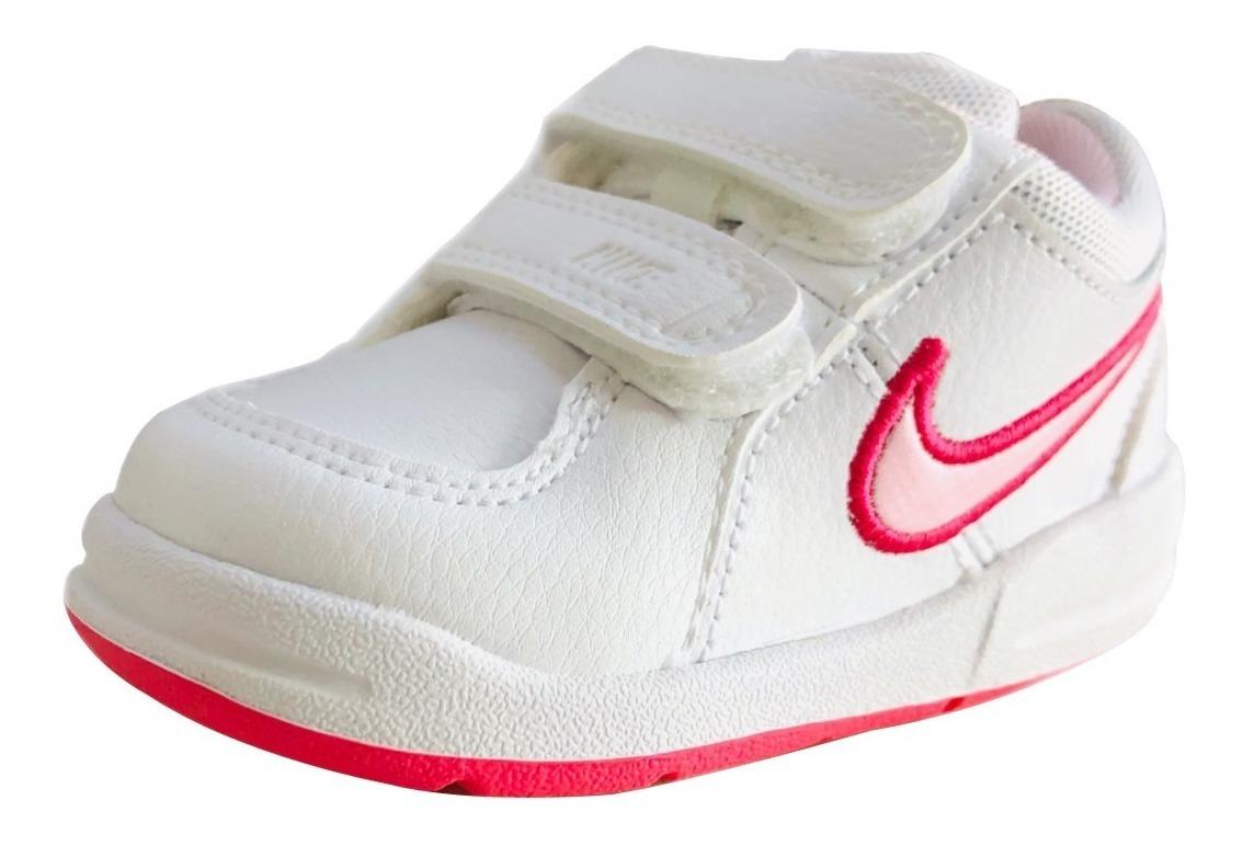 Tennis Nike Bebé Y Niña Pico 4 Tdv Blanco Rosa