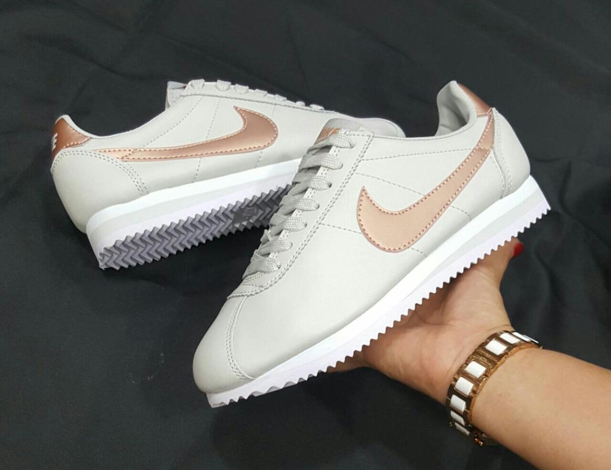 zapatos nike cortez mujer