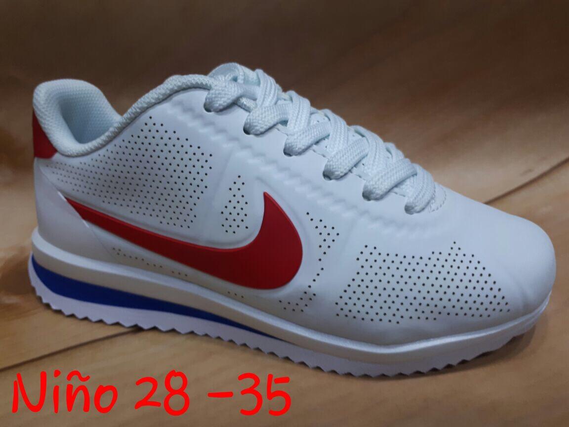 Zapatillas Nike Corte Nilo Zapatillas Blanco en Mercado