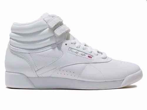 027b34fed5c Tennis Reebok Freestyle Hi White Modelo  2431  -   1