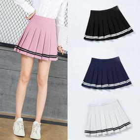 ba72ef408 Tennis Skirt Con Rayas (pollera Tableada) Varios Colores.
