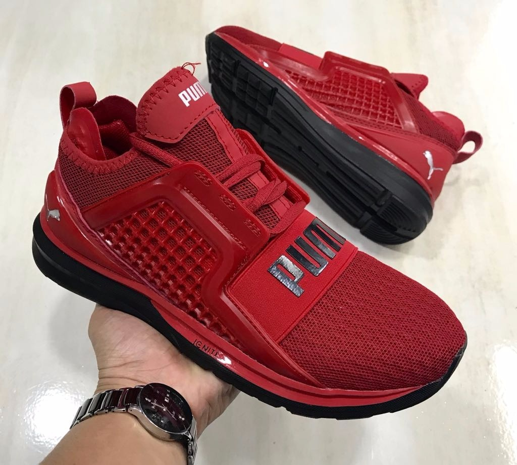 quality design de598 e5950 Tennis Tenis Puma Ignite Limitless Rojo