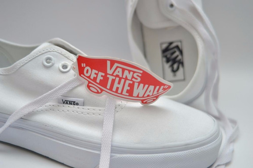 tennis vans blancos authentic core classics tenis unisex