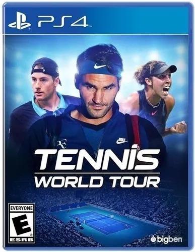 tennis world tour fisico nuevo ps4 envío gratis jazz pc