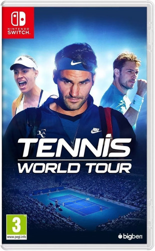 tennis world tour nintendo switch fisico nuevo envio gratis