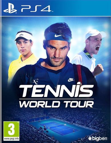 tennis world tour ( ps4 )
