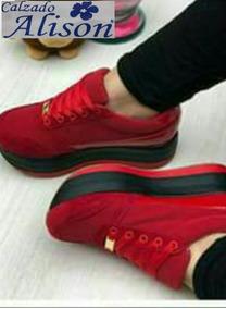 tenis rojos para mujer adidas
