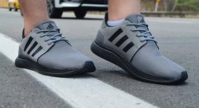 zapatillas velcro hombre adidas