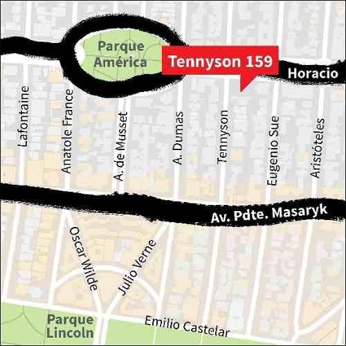 tennyson, polanco - terreno para desarrollo