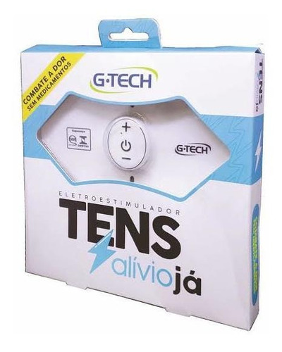 tens alívio já eletroestimulador - g-tech (revenda nf)