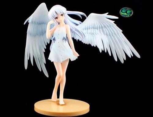 tenshi kanade angel beats figura de 20cm /100% nueva en caja