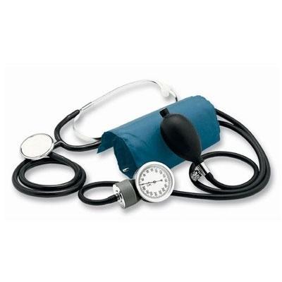 tensiometro aneroide con estetoscopio y bolso san up