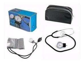 tensiometro aneroide + etetoscopio / fonendoscopio original