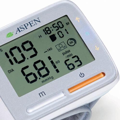 tensiometro automatico digital de muñeca aspen ye8900a smart
