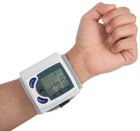 tensiometro de muñeca esfigmomanometro digital pulso presion
