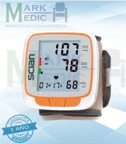 tensiometro de muñeca/diagnostico de voz 1 año de garantia