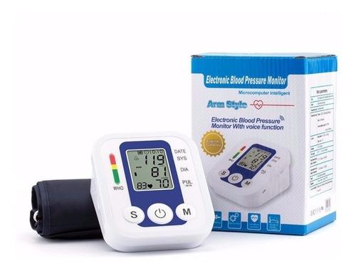 tensiómetro digital 7120 brazo arterial con voz el +exacto