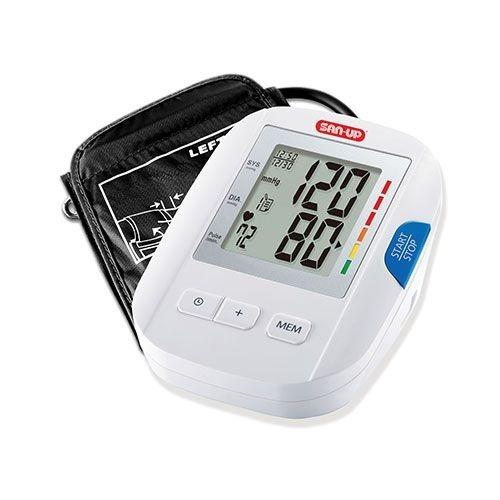 tensiómetro digital automático de brazo san up 120 memorias