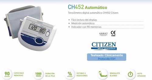 tensiómetro digital automático de brazo silfab citizen