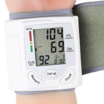 tensiometro digital automatico de muñeca, 60 memorias