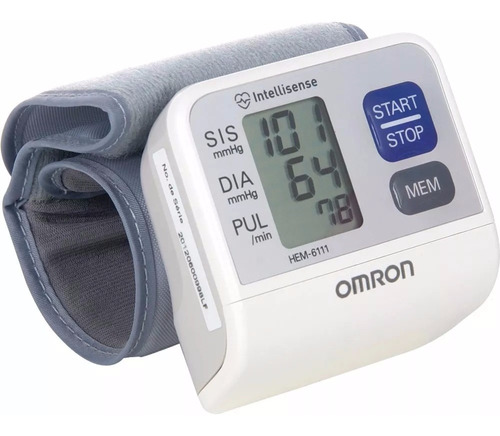 tensiometro digital automatico de muñeca omron - hem-6111