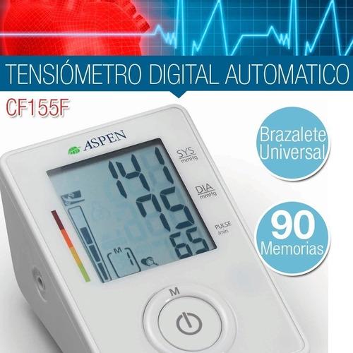 tensiómetro digital de brazo aspen automático cf155f