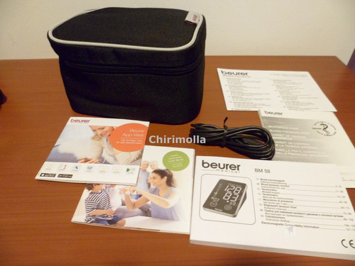 tensiometro digital de brazo beurer aleman bm 58 diagnostico