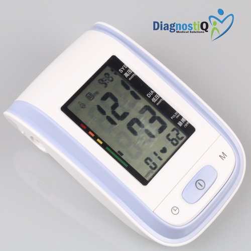 tensiometro digital de brazo pantalla led automático morado