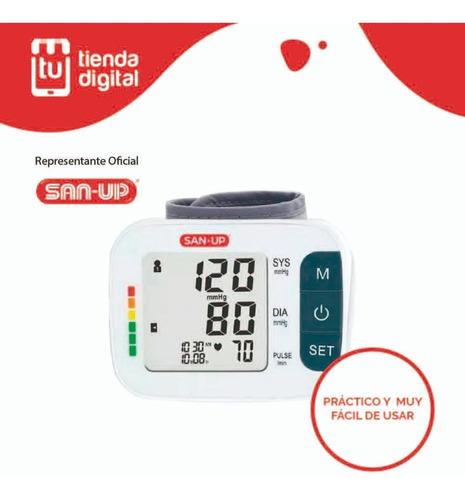 tensiometro digital de muñeca automatico san up  2261