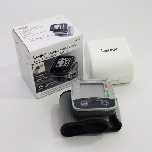 tensiometro digital de muñeca beurer bc-32