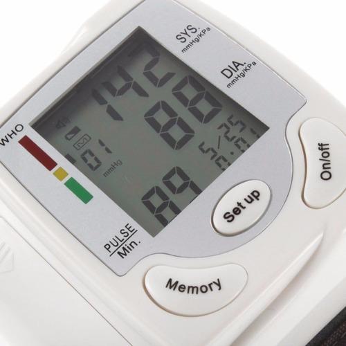 tensiometro digital de muñeca + cofre envío inmediato