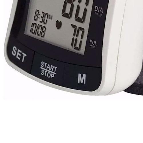 tensiometro digital de muñeca gama bp-2208 120 mem arritmia