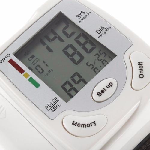 tensiómetro digital de muñeca para medir presión automatico